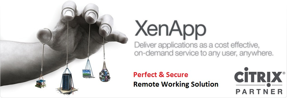 Citrix XenApp | مجازی سازی برنامه | دسترسی راه دور به نرم افزار |  دورکاری remote working | دسترسی آفلاین به برنامه